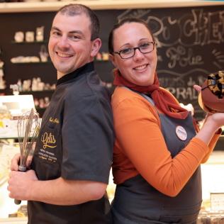 Alexandrine et Pascal GÉLIS